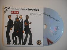 THE BRAND NEW HEAVIES : NEVER STOP [CD SINGLE PORT GRATUIT]