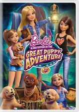 BARBIE DVD - BARBIE AND HER SISTERS IN THE GREAT PUPPY ADVENTURE (2015) - NEW