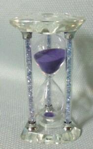 Crystal Art Glass Sand Timer Hour Glass