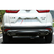 Stainless Steel Rear Door Tailgate Bazel Lid Cover Trim for 2017 Honda CRV CR-V