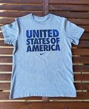 Vintage Mens Nike Usa Soccer Us Soccer Usmnt Uswnt Shirt Large Euc