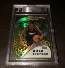 1997-98 ULTRA STAR POWER SUPREME ALLEN IVERSON 76ERS BGS 9 MINT - SET BREAK