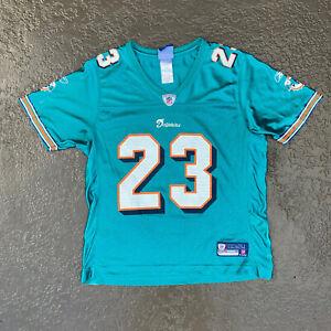 Miami Dolphins Ronnie Brown Womens Medium Jersey #23 Green NFL Football Fan