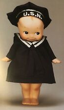 7 inch Kewpie Rose O'Neill Sailor Bisque Figure  #122 Made In Japan 2006 Kewpies
