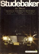 Studebaker Lark Cruiser Daytona Hawk Avanti 1964 Canadian Market Sales Brochure