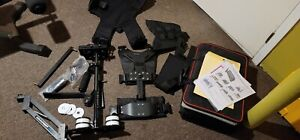 OPEN BOX FlyCam 5000 Video Camera Steadycam System With Comfort Arm Vest & Case