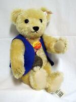 "Steiff L.E. UFDC 50 YRS Teddy Bear Mohair Jointed 13.5"" 00081/1500 Model 665974"