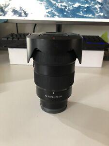 24-70mm f2.8 G Master Sony Lens
