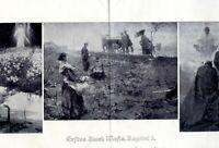 Erstes Buch Moses Kapitel 3 XL 1919 Kunstdruck von Ludwig Dettmann Mosis