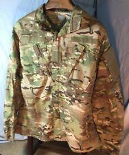 US Military Army Multicam Combat Coat ACU Men's Size M MEDIUM-LONG EUC - 0487