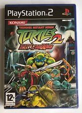 PS2 Teenage Mutant Ninja Turtles 2 batalla Nexus, Reino Unido PAL, Nuevo Y Sellado De Fábrica