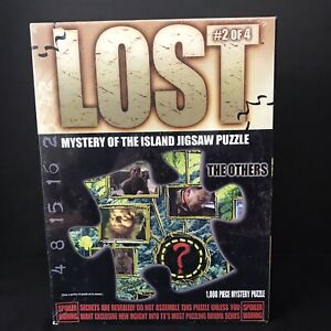 """Lost The Others Mystery of the Island 1000 Piece Jigsaw Puzzle Sealed New 19""""x26"""