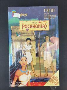Vintage Disney Pocahontas Colorforms Play Set #791 - Brand New Sealed