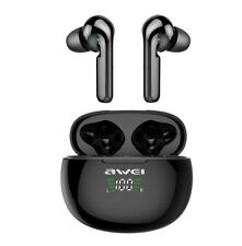 AWEI T15P TWS Earbuds Bluetooth Headphones Wireless Touch Control Earphone Water