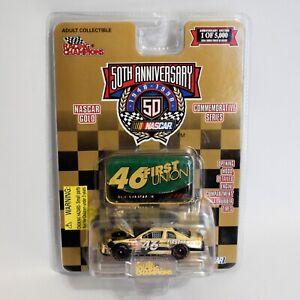 Racing Champions Wally Dallenbach Diecast NASCAR Gold Series 50th Anniversary