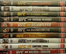 UFC Collection Volumes 105 - 113 (Total of 20 discs) NEW/SEALED