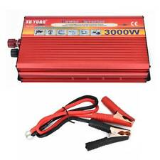 6000W Peak Car LED Power Inverter DC 12V to AC 220V Modified Sine Wave Converter