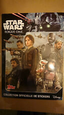 TOPPS - STAR WARS - ROGUE ONE (Stickers Album) ALBUM VIDE & NEUF