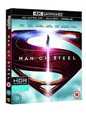 Man of Steel (4K UHD Blu-ray + Blu-ray, 2 Discs, Region Free) *NEW/SEALED*