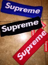 100 % ORIGINAL SUPREME Headband New Era 2014 BLACK RED BLUE with Tag US Seller