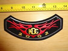 OEM HOG Harley Owners Group 2002 NEW Patch fxdwg fxdl fxrs flh xl flhx flhr fxrp