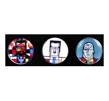 Klee Mondrian de Chirico - Bonne Moderne Artistes Verre AIMANT Jeu de 2