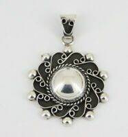 Vintage Mexico 925 Sterling Silver Pendant
