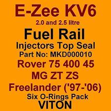 KV6 Fuel Injector TOP Seals VITON Seals Rover 75 400 45 MG ZT ZS Freelander