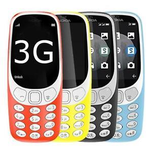 Nokia 3310 2017 3G Sim Free Unlocked Single Sim Mobile Camera Cell Smartphone