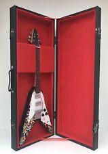 Jimmy Hendrix Flying V Guitar miniature with Case (UK)
