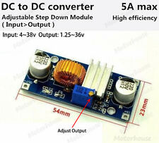 DC-DC 5V-36V to 3.3V 6V 12V 24V 5A Step Down Converter Module Voltage Regulator
