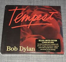 Bob Dylan - Tempest [DELUXE LIMITED EDITION] (2012 CD ALBUM) 60 Page Notebook