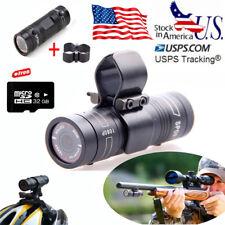 Gun Video X38 Sport Hunting Camera 32GB 1080P For Clay Pigeon Shooting+Gun Clip
