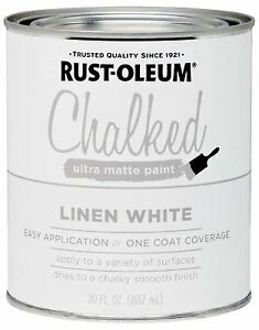 Chalked Paint, White, 30-oz. -285140