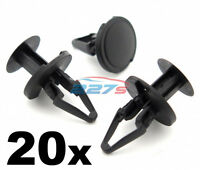 20x Plastic Trim Clips rivets some Vauxhall wheel arch linings, inner wing liner