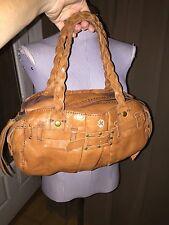 Lucky Brand Italian leather super soft supple hand bag EUC