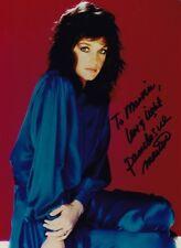 PAMELA SUE MARTIN Actress Original SIGNED AUTOGRAPHED Color Portrait PHOTO