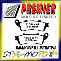 PASTIGLIE FRENI ANTERIORI ORGANICHE PREMIER FES 125 W/Y/1/ Pantheon 2000