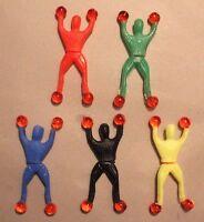1- 5pcs Sticky Man Window Acrobat Hand Stretchy Jelly Kids Toy Party Favour