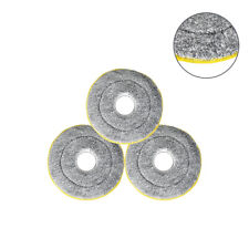 3PCS x360° Magic Spin floor Mop Microfiber cleaner Pads Replacements