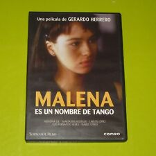 DVD.- MALENA ES UN NOMBRE DE TANGO - GERARDO HERRERO - ARIADNA GIL