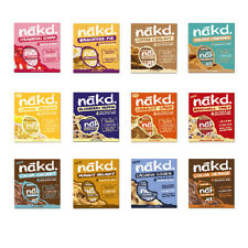 Nakd Fruit Nut Bar Mixed Case Selection 48 44 20 Bars Dairy Wheat Gluten Free