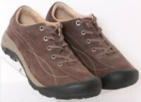 Keen Toyah Brown Bump Toe Suede Lace-Up Hiking Sneaker Shoes Women's US 8.5