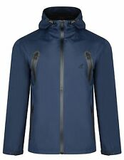 Kangol Mens Zip up Through Hooded Long Sleeve Contrasting Details Jacket Coat M Blue