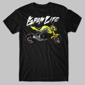 Honda Grom Life Tee T-Shirt MSX125 SF MSX125SF motorcycle MSX