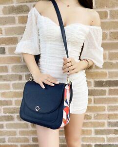 Kate Spade Kailee Tropical Toss Medium Flap Shoulder Leather Bag Nightcap Floral