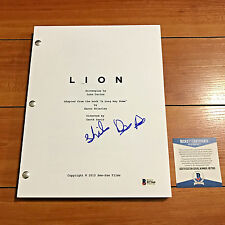 SUNNY PAWAR SIGNED LION FULL 112 PAGE MOVIE SCRIPT SCREENPLAY w/ BECKETT BAS COA