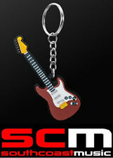 ELECTRIC GUITAR KEY RING CHAIN GIFT FOR GUITARISTS KEYRING KEYCHAIN NEW GIFTWARE