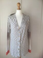 Jones New York Collection NEW TAG Size XL 16 18 Cardigan Beige Multicolour Smart