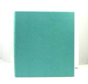 Graphic Image Photo Album Large 10x12 Ring Binder Clear Pockets Seafoam
